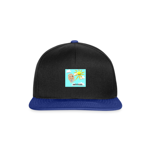 BlueSkyMomioWeekend - Snapback cap