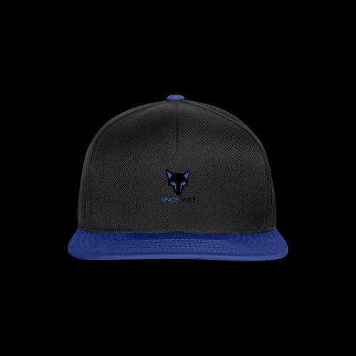 logo lobo space wolf negro azul - Gorra Snapback