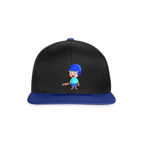 Junger Baseball-Spieler - Snapback Cap