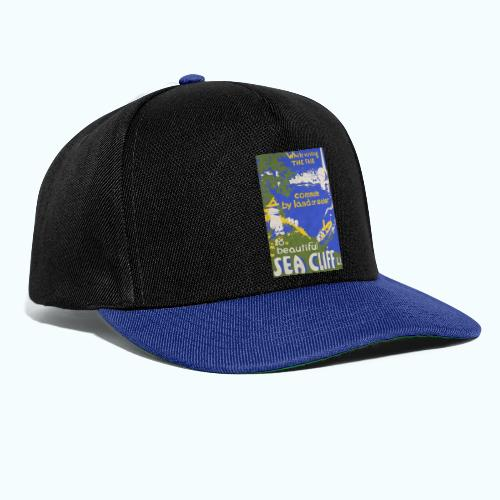 Lake travel vintage poster - Snapback Cap