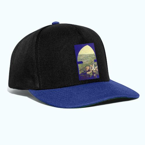 Tuscany vintage travel poster - Snapback Cap