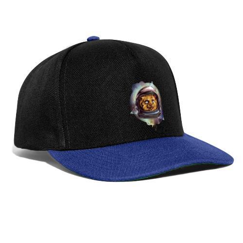 Cute astronaut kitten - Snapback Cap