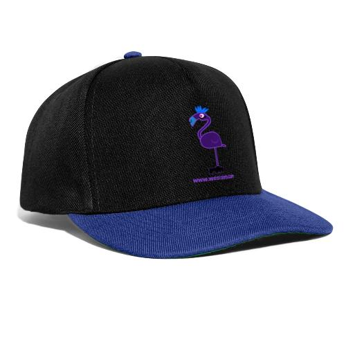 Dark Flamingo - Snapback Cap