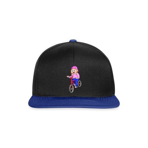 Radfahren Mädchen - Snapback Cap