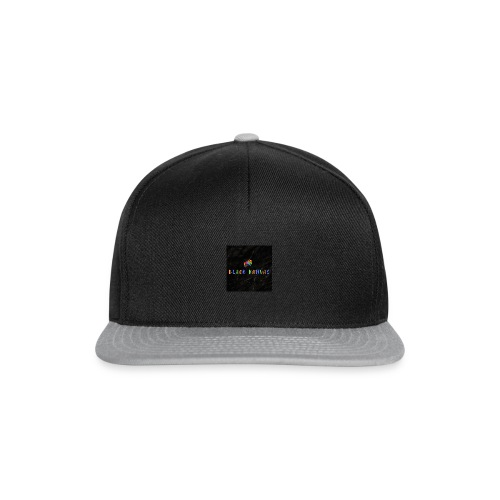 BK chameleon with crown - Snapback Cap