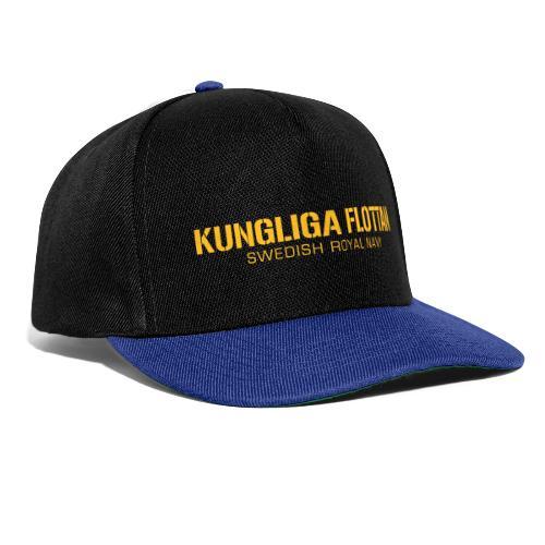 Kungliga Flottan - Swedish Royal Navy - Snapbackkeps