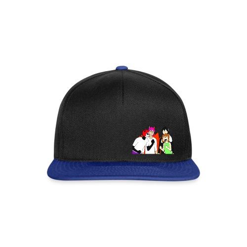 fluffy talk show - Snapback Cap