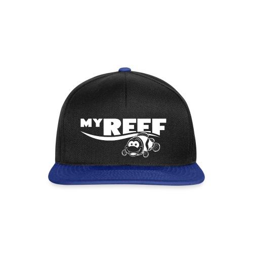 MyReef WhiteOnTransparent png - Snapback cap