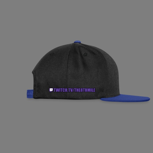 twitch.tv/the8thmile - Snapback Cap