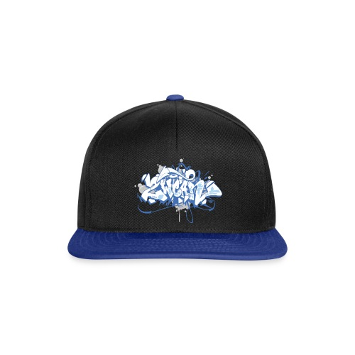 Dae 2Wear graffiti style ver01 blue edt - Snapback Cap