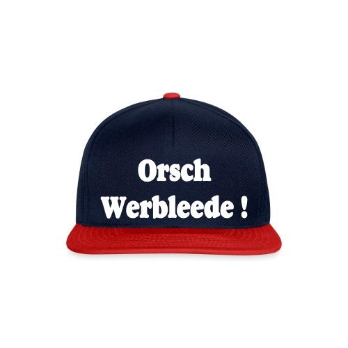 Orschwerbleede Sachsen Dialekt - Snapback Cap