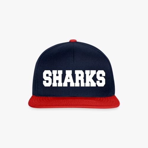 Sharks - Snapback Cap