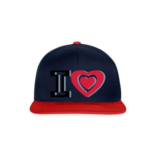 I LOVE I HEART - Snapback Cap