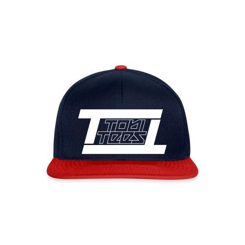 TobiTees 2020 logo white outline - Snapback cap