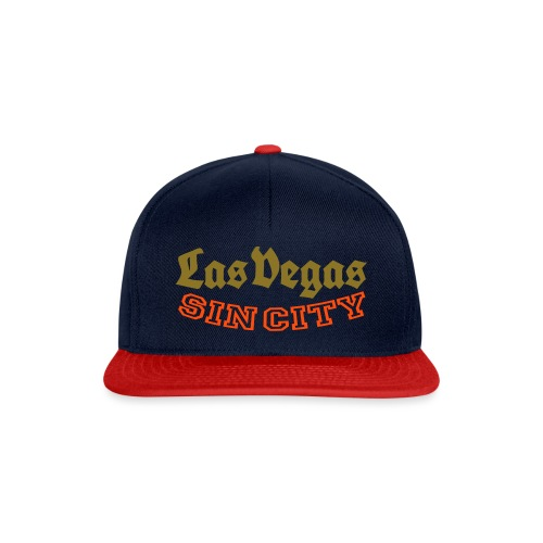 LAS VEGAS SIN CITY - Snapback Cap