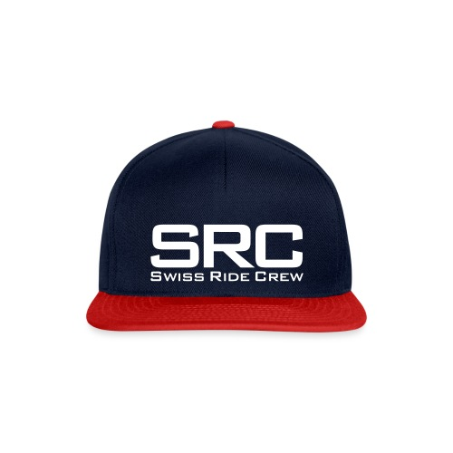 SRC Snapback Schwarz - Snapback Cap