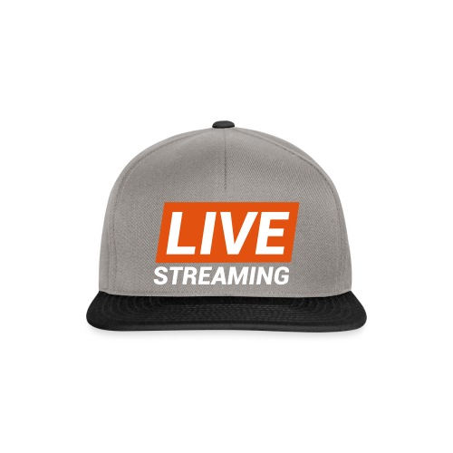 LIVE streaming - Snapback Cap