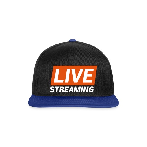 LIVE streaming - Snapback Cap