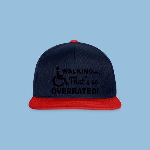 Walkingoverrated1 - Snapback cap