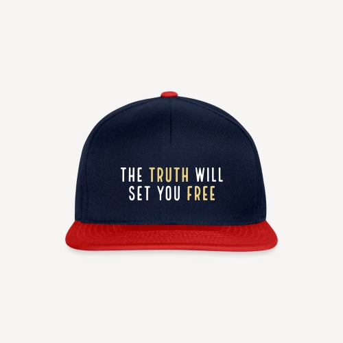 THE TRUTH WILL SET YOU FREE - Snapback Cap