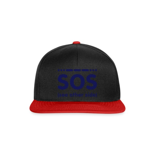 SOS - Snapback cap