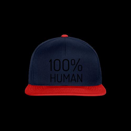 100% Human - Snapback cap
