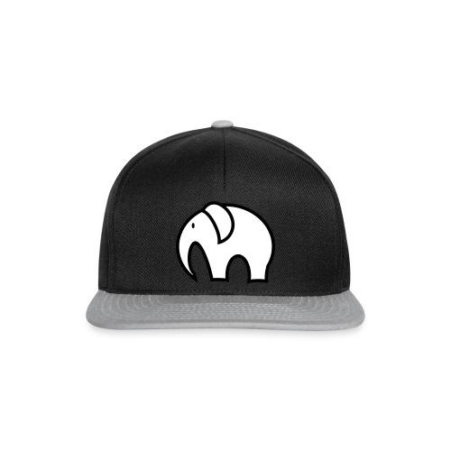 olifant pictogram - Snapback cap