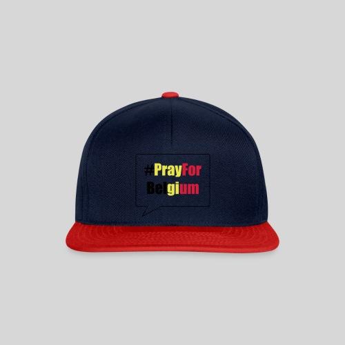 #PrayForBelgium - Casquette snapback