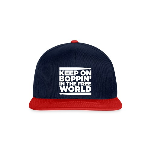 Keep on Boppin' - Snapback Cap