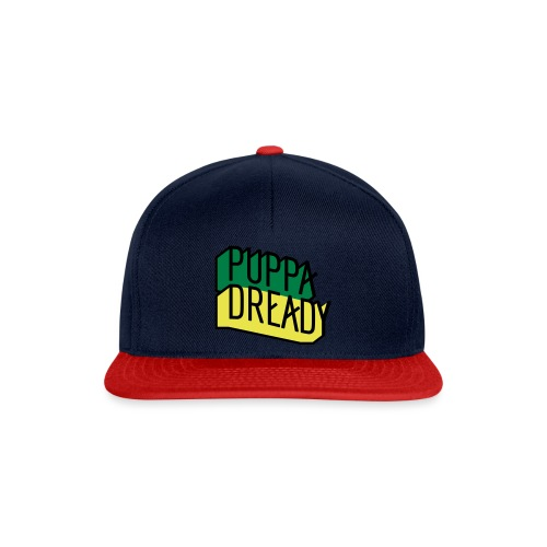 Puppa Dready Jamacolor - Casquette snapback
