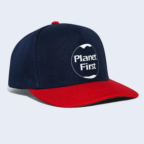 Planet First - Snapback cap