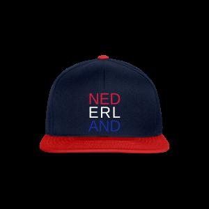 Nederland in de kleuren van de vlag - Snapback cap