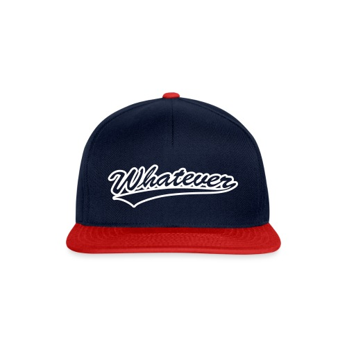 Was aug immer - Snapback Cap