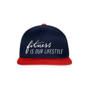 Fitness is our lifestyle Streetwear - Snapback Cap