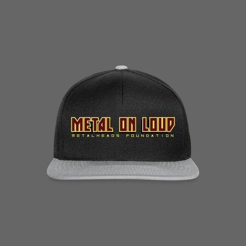 MOL Letter Logo Randy - Snapback Cap