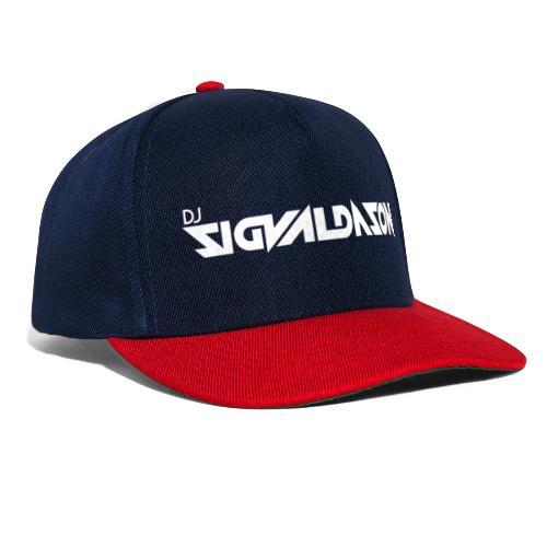 DJ logo hvid - Snapback Cap
