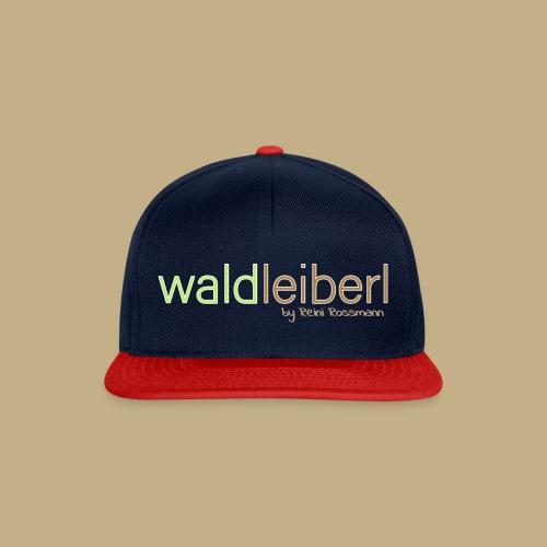 waldleiberl logo by reini rossmann - Snapback Cap