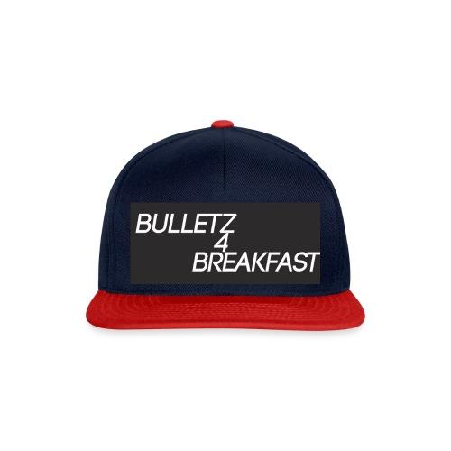 bulletz4breakfast_t-shirt - Snapback Cap