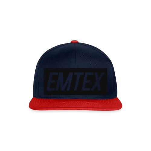 emtexshirtlogo - Snapback Cap