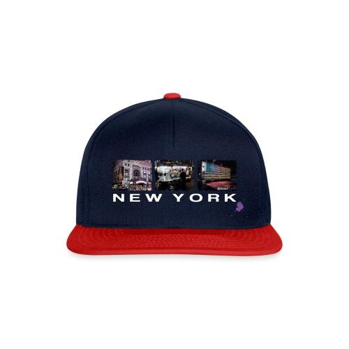 new york color ohne kontu - Snapback Cap