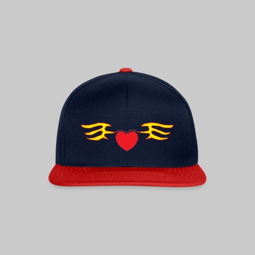 Heart & Fly - Casquette snapback