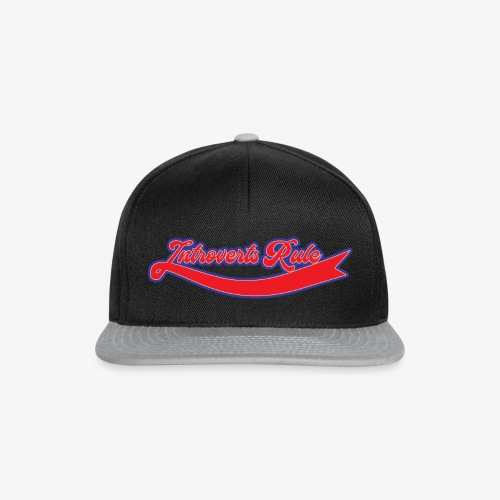 Introverts rule - Casquette snapback