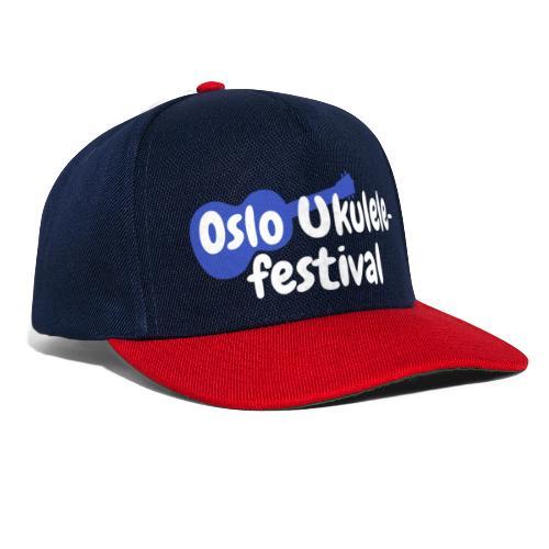 Festival logo hvit - Snapback-caps