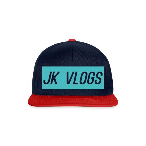 JK Vlogs Logo 2 - Snapback Cap