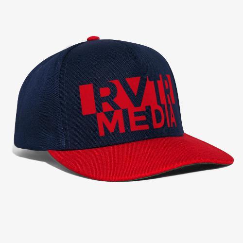 RVTR media red - Snapback Cap