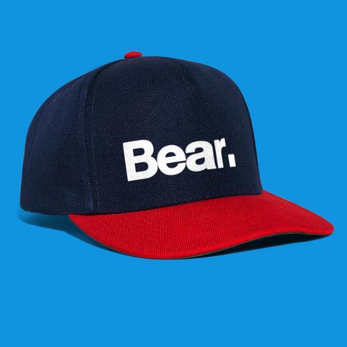 Bear. Retro Bag - Snapback Cap