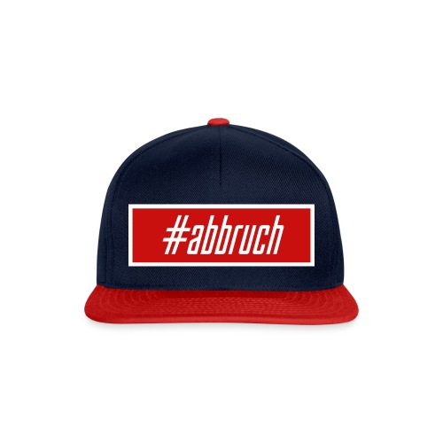#abbruch - Snapback Cap