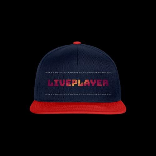 LivePlayer V.7 Weiße Umrandung - Snapback Cap