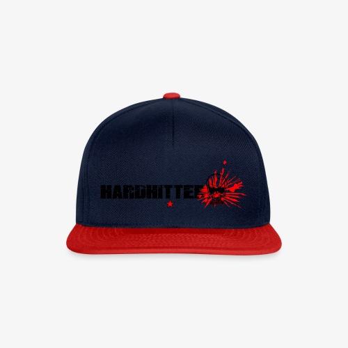 Hardhitter Logo für hellen hintergrund - Snapback Cap
