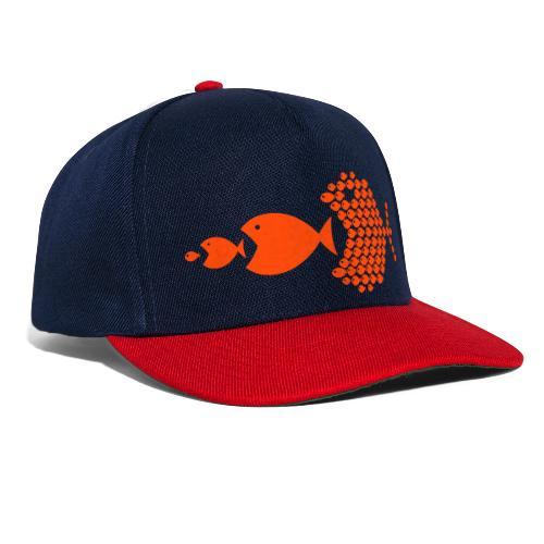 poissons mer vacances - Casquette snapback